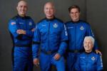 Blue Origin: atterrata la capsula nel Texas, volo riuscito per mr. Amazon Jeff Bezos