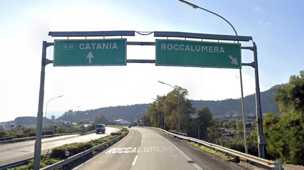 a18, autostrada, catania, messina, roccalumera, taormina, Messina, Cronaca