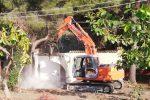 Case distrutte (Foto e video di Salvatore Monteverde)