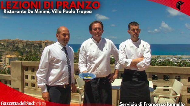 Nella foto, da sinistra: Davide Fanà, restaurant manager, e gli chef Dario Marco Bettoni e Andrea Monastero