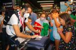 """Olimpiadi: Rodini, Cesarini, schermidori e canottieri. Festa grande a Fiumicino per le """"medaglie"""" azzurre FOTO"""