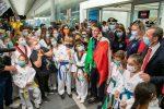 Tokyo 2020: rientro trionfale in Italia per Vito Dell'Aquila, medaglia d'oro nel taekwondo