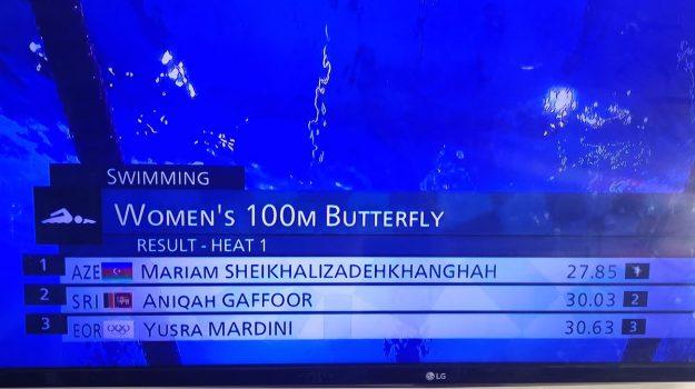 iran, nuoto, olimpiadi, Tokyo 2020, Mariam Sheikhalizadehkhanghah, Sicilia, Tokyo 2020