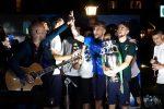 La lunga festa degli Azzurri campioni d'Europa tra carbonara e canzoni - VIDEO