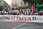 Flashmob contro la criminalità sibarita a Corigliano Rossano