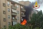 Catanzaro, incendio in un appartamento in viale Isonzo. Panico tra i residenti