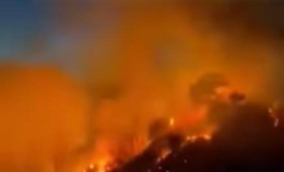 incendio zumpano, vigili del fuoco, Cosenza, Cronaca