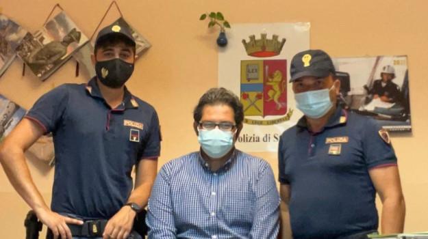 commissariato, infarto, salvataggio, villa san giovanni, Reggio, Cronaca
