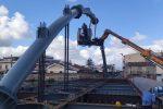Barcellona PG, procedono i lavori per la realizzazione del nuovo ponte di Calderà