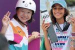 Olimpiadi, Skate: sul podio salgono due... bambine. Leal e Nishiya hanno 13 anni!