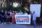 Crotone, discarica di Columbra 'panacea' dell'emergenza? Il Comune non ci sta e protesta FOTO