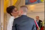 Matrimonio a Parigi: chi è Jessica Aidi, la modella che ha sposato il campione d'Europa Verratti FOTO