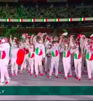 "Tokyo 2020, la ""divisa"" dell'Italia... divide: dai Teletubbies a Pac-man"