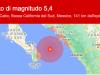 Trema la terra in Messico e Bassa California, scossa di magnitudo 5.4