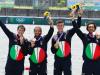 """Rosetti positivo, bronzo con handicap degli azzurri del canottaggio. Di Costanzo: """"Buttato giù dal letto..."""""""