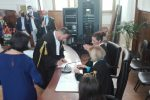 Tribunale di Locri, il giudice Accurso si è insediato ufficialmente