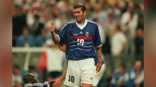 francia, maglia venduta, Zinedine Zidane, Sicilia, Sport
