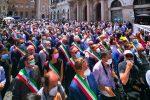 """Sindaci in piazza a Roma. Orlando: """"Chiediamo rispetto"""". Falcomatà: """"Riformare il ruolo"""""""