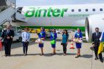 Binter debutta in Italia, primo volo per le Canarie da Torino