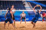 Tokyo 2020, beach volley: è di Lupo e Nicolai il punto più bello del torneo - VIDEO
