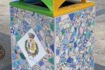 Cassonetti in ceramica a santo Stefano. Un'iniziativa di bellezza