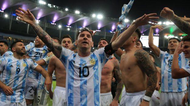 copa america, Messi, Sicilia, Sport