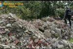 Tonnellate di materiale nocivo sul terreno: sequestrata discarica abusiva a Castelmola - VIDEO