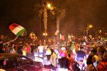 Festa azzurra a Reggio Calabria: in centinaia in centro e sul lungomare