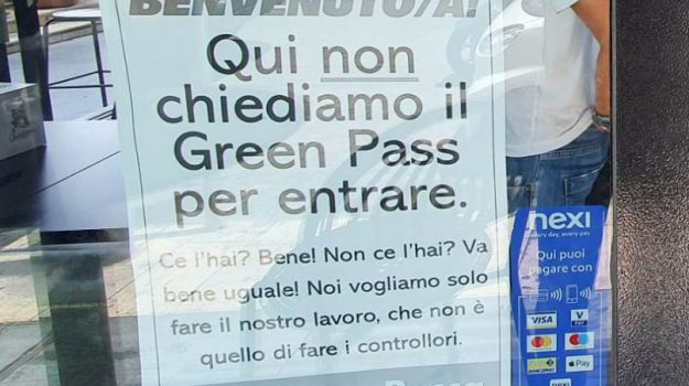 chiusura locali per cinque giorni, coronavirus, green pass, multe, Sicilia, Cronaca