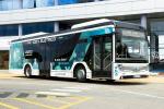 Il marchio Toyota sugli autobus a zero emissioni CaetanoBus