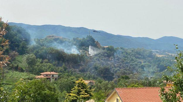 incendio, rende, Cosenza, Cronaca