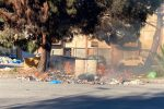Reggio brucia ancora, ennesimo rogo di rifiuti in zona Botteghelle - VIDEO
