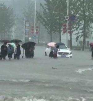 Alluvioni in Cina: nello Shanxi due morti e un disperso