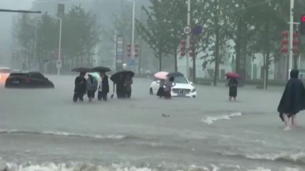 alluvione, cina, Sicilia, Mondo