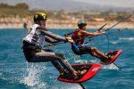 Kitesurf a Gizzeria, quarta giornata di Formula Kite U19 e A'S Youth Foil Individual