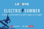 "Leasys ""Electric Summer"", un mese di offerte per la mobilità elettrica"