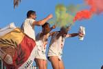Apoteosi Acr Messina, la festa dei tifosi al termine della gara IL VIDEO