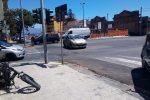 Messina, scontro auto-bici elettrica sul viale Europa. Ciclista ferito trasportato in ospedale