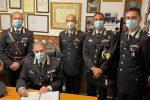 Palmi, il comandante interregionale dei carabinieri in visita alla Compagnia