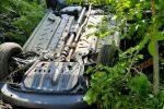 Raccuja, incidente al comandante della caserma della forestale: fuori strada con l'auto