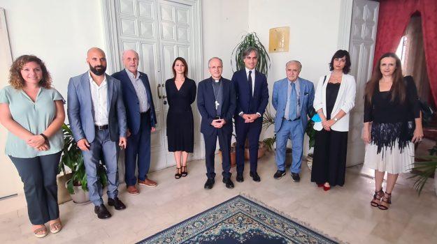 giunta, reggio calabria, visita arcivescovo, Reggio, Cronaca