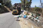 Reggio, l'emergenza rifiuti concede una tregua