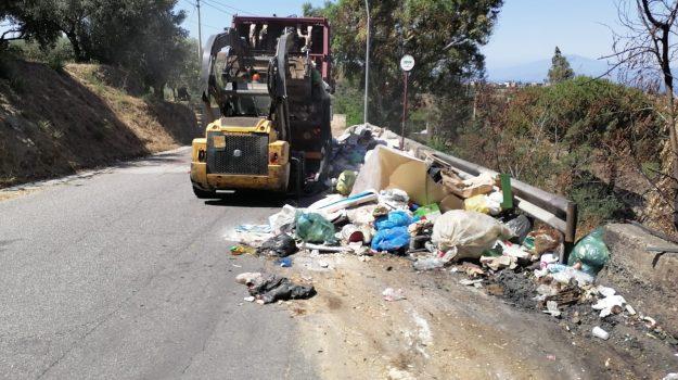emergenza rifiuti, reggio calabria, Paolo Brunetti, Reggio, Cronaca