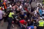Euro 2020, la furia degli hooligans A Wembley: 49 arresti, 19 agenti di polizia feriti