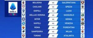 Probabili formazioni serie A aggiornate. Oggi Samp-Milan e Cagliari-Spezia. Ecco le partite e dove vederle. Fantacalcio LA GUIDA