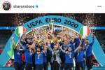 Europei, Sharon Stone e Susan Sarandon hanno tifato Italia