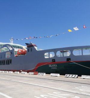 La Sikania collegherà Messina e Villa San Giovanni: inaugurata la nuova nave di Bluferries