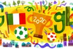 Azzurri campioni d'Europa: anche il doodle di Google festeggia l'Italia