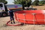 """Lavoro intenso per """"Calabria Verde"""": 35 incendi attivi e 43 squadre in campo"""