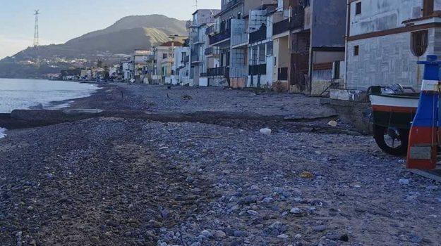 cannitello, erosione costiera, villa san giovanni, Calabria, Cronaca